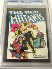 Marvel Graphic Novel 4 Cgc 9.2 White Pages 1st Appearance Of The New Mutants