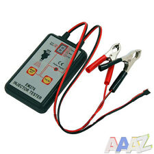 12 VOLT HAND HELD FUEL INJECTOR TESTER INDIVIDUAL INJECTORS ENGINE INJECTION 12v