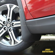 Black Splash Guards Mud Flaps Front & Rear for Suzuki Vitara Escudo 2015 2016