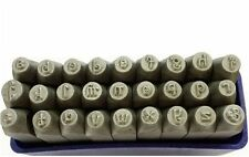 27 Pc Penguin Font 3mm LOWERCASE Letter Metalwork Stamp Stamps Punches J1380