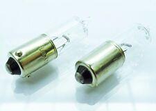 2 x bay9s h21w 12v 21w LAMPADA ALOGENA inquirente pera Vetro Lampada Incandescenza