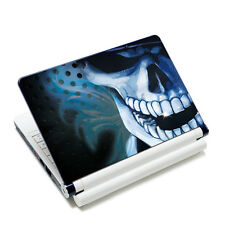 "Cool Skull Laptop Skin Sticker Cover Decal For 13"" 14"" 15"" 15.4"" 15.6"" Notebook"