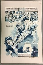 THE GOON (2012) #41 PAGE 4 SIGNED AUTOGRAPHED ERIC POWELL FINISHED ORIGINAL ART