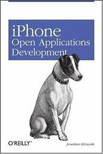 iPhone Open Application Development: Write Native Objective-C Applications for t