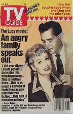 TV GUIDE - LUCILLE BALL AND DESI ARNAZ - FEB 9, 1991