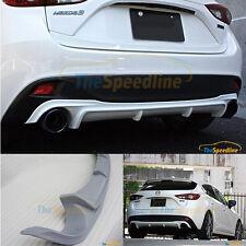 13 14 15 16 Mazda3 HB 5D GV-Style Rear Bumper Diffuser Add-on body kit Mazda 3