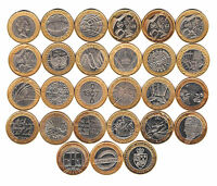 Two Pound Coin £2 1999 to 2014 Brilliant circulated BU - Choose your Year