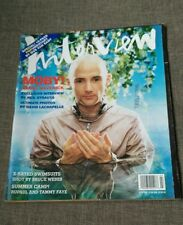 MAGAZINE ANDY WARHOL'S INTERVIEW - MOBY - BRUCE WEBER - GUS VAN SANT - JULY '00