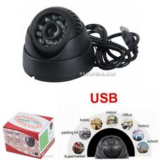 K802 Home Security Camera USB TF Card Slot CCTV DVR Infrared Dome Night Vision