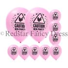 HEN PARTY BALLOONS FOR NIGHT OUT 10 PACK HEN NIGHT FANCY DRESS ACCESSORY