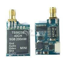 TS5823S 5.8G 200mW 40CH Wireless Telemetry Audio Vidio AV Transmitter Tx for FPV
