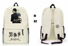 Black Butler Kuroshitsuji Backpack School Bag Shoulder bag Computer bag B style
