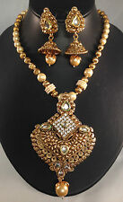 Golden Indian Jewellery,traditional necklace set,Bollywood style DH14-2693