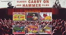 GB 2008 Acolchada Martillo películas presentación Pack 414 sello de menta conjunto SG2849-54 #