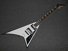 Jackson JS32T Rhoads White W/ Black Bevels! Cool Guitar! LOOK!