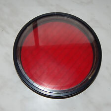 Big Military Red Filter 155mm for Aerial Lens Gun Camera Objective