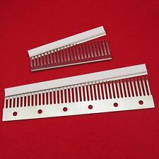 4.5mm 24 40 decker combs transfercomb sockscomb decker combs knitting machine