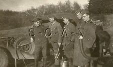 WWII German RP- Army- Soldier- KFZ- Car- Spare Tire- Canvas Roof- Repair Tools