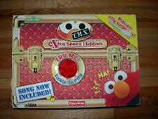 T.M.X FISHER~PRICE ELMO TICKLE TUMMY ~ HE HE HE  HA HA EXTRA SPECIAL EDITION