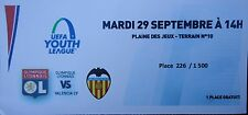 TICKET UEFA Youth League 2015/16 Olympique Lyonnais - Valencia CF