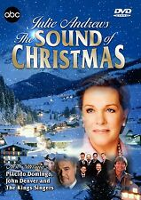 JULIE ANDREWS - THE SOUND OF CHRISTMAS DVD - 1987 ABC TV SPECIAL