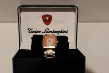 LAMBORGHINI WATCH GENTS WITH TWO TONE STAINLESS STEEL UL67CT/0