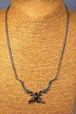 Granat Collier 15,68 gr. Silber Edelstein Schmuck Kette Halskette Heilstein