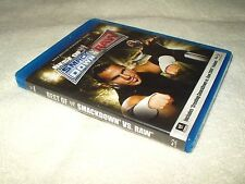 Blu Ray Wrestling WWE The Best Of Smackdown vs Raw