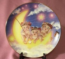 """Hamilton Collection Dreamsicle  Plate """"By the Light of the Moon"""" 1994"""