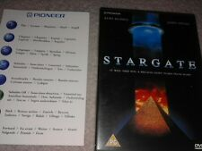 RARE EARLY PIONEER STARGATE PROMO DEMO DVD DISK MOVIE FILM