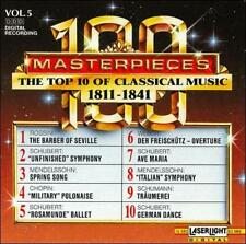 Masterpieces Vol. 5: The Top 10 of Classical Music 1811 - 1841 NEW Free Shipping