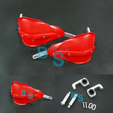 RED Hand Guards Mount Kit Set for Honda CRF 150 100 XR 230 250 400 110