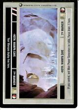STAR WARS CCG HOTH BLACK BORDER DARK SIDE RARE HOTH: WAMPA CAVE