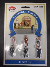 Model Power O Scale Passenger Figures Pack (6 Figures) - MP6055