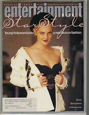 DREW BARRYMORE Entertainment Weekly Magazine 9/4/92 STAR STYLE PC
