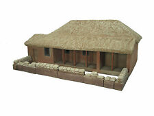 RORKES DRIFT STOREHOUSE WITH MEALIE BAG SET CAST FOAM ATHERTON SCENICS (#9500)