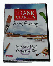 FRANK CLARKE'S - Simply Painting - On Golden Pond  - DVD - NEW IN SEALED BOX