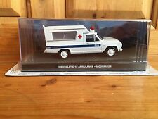 James Bond 007 Car Collection Chevrolet C-10 Ambulance Moonraker