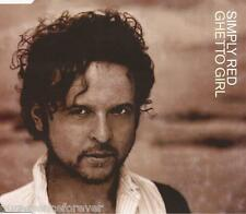 SIMPLY RED - Ghetto Girl (UK 3 Track CD Single Part 1)