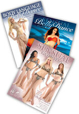 3-DVD lot, Sensual Belly Dance Beginners Instructional DVDs from World Dance NY