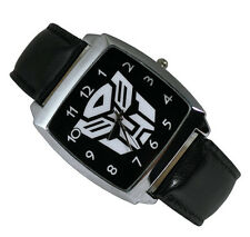 Transformers Autobot Fashion Boy Man WRIST STEEL WATCH Black ZQT