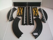 life like slot car track parts lot in nice condition ho 1/64 scale