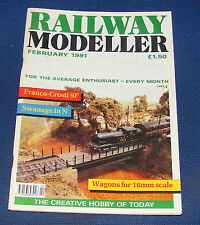RAILWAY MODELLER VOLUME 42 NUMBER 483 FEBRUARY 1991 - HUNTING IN RYEDALE