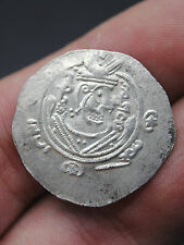 ANCIENT SASANIAN EMPIRE HAMMERED SILVER COIN FROM VIKING SETTLEMENT