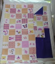 Homemade Baby Girl Muliple Print  Design Receiving Blanket/Burp Cloths-Girls