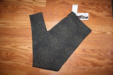 NWT Womens MATTY M Leggings Pants Stretch Army Green Snake Print Size XL