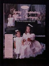 Martha's Sewing Room Sewing Inspiration From Yesteryear, How to Book SIGNED