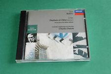 "CD RAVEL ""BOLÉRO, DAPHNIS ET CHLOÉ, LA VALSE..."" CHARLES DUTOIT - DECCA TB ETAT"