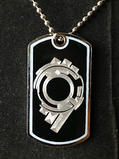 Ghost In The Shell Section 9 Dog Tag Necklace Video Game Handmade anime manga