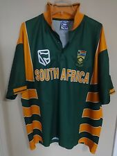 Vintage Authentic South Africa S.A. Sewn Logos Cricket Jersey Size Men XL